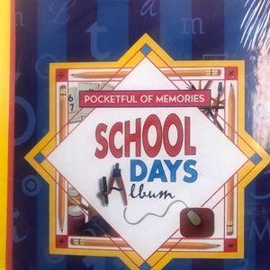 Other - NWT Pocketful of Memories School Album